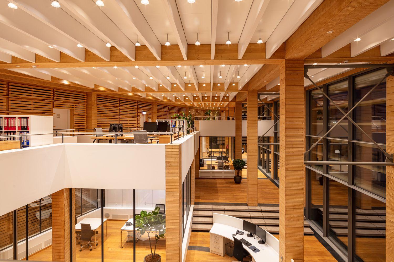 Dänischer Pavillion - attraktive und moderne Arbeitsplätze